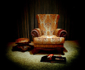 Lonely armchair