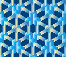 Crystalline seamless pattern (vector    background)