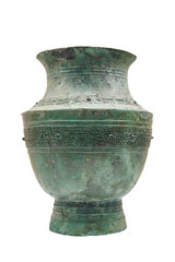 bronze drinking vessel