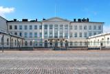 Helsinki. President Palace poster