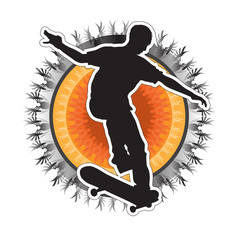 Skateboarder Design