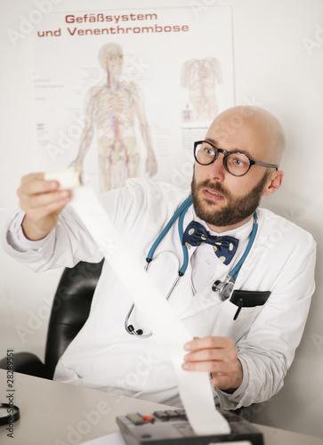 Arztabrechung