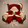 Tired Santa Claus
