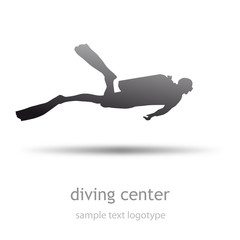 Logo Diving Center ( vector)