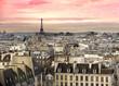 Fototapeten,paris,anblick,eifelhaus,la gomera