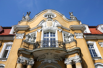 Poland - old palace in Kochcice