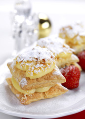mille-feuille for christmas