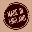 England rubber stamp