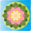 Fleur de Lotus sur Feuille et Eau