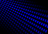 Vector lighted techno blue background