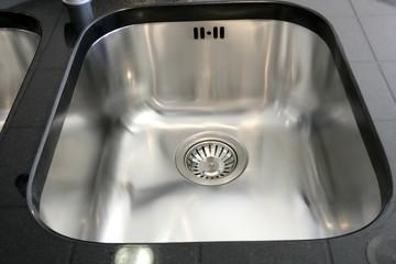 Kitchen silver sink modern stainless steel