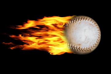 Baseball in Flammen