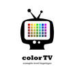 Logo Color TV # vector