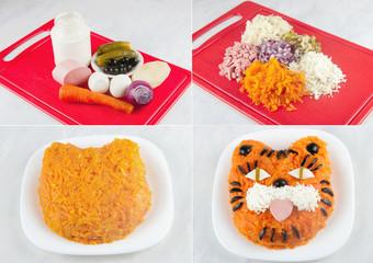 """Salad """"Tigr"""""""