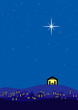 Bethlehem christmas background - 28312132