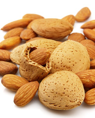 Almond closeup