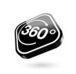 360 Grad 3-d Button