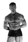 musculature puissante poster