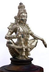 Hindu God Ayyappan Statue