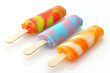 colorful ice cream pops