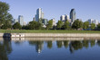 Lachine Canal, Montreal skyline, Canada