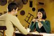 coppia a tavola