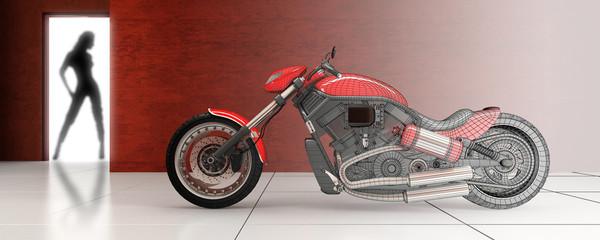 Red Loft Bike (3d)