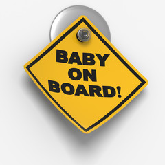 Sticky Warning: Baby on Board
