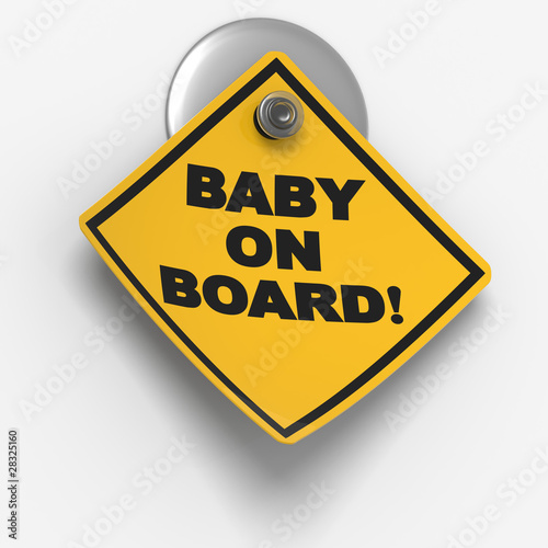 Sticky Warning: Baby on Board