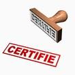 Tampon certifié