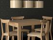 Design interior of elegance modern dining room