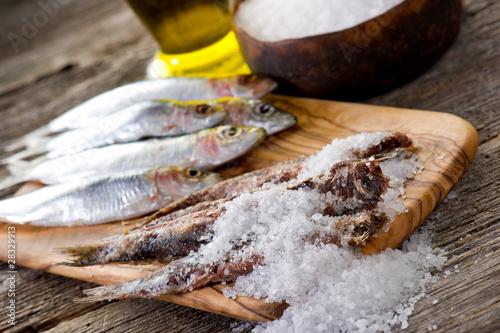 Salt Sardine Sotto Sale