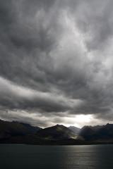 Moody Sky Portrait