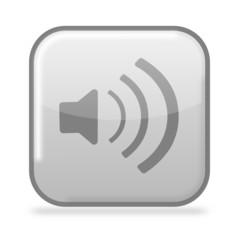 Button Sound grau