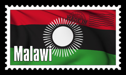 Made in Malawi original stamp