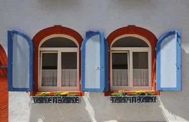 Fenster eines Hauses in Endingen