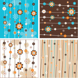 Fototapety background vector flowers