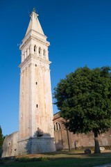 Church tower of St. Euphemia Church