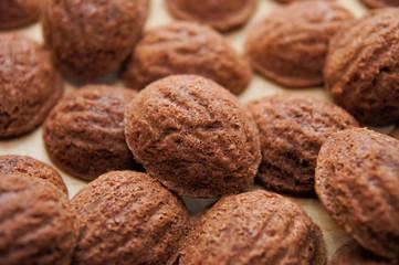 Xmas nut biscuit