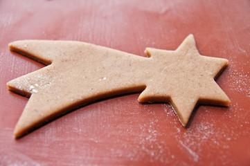 Xmas gingerbread star