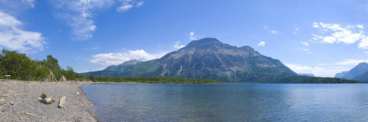 Waterton Lakes in Southern Alberta