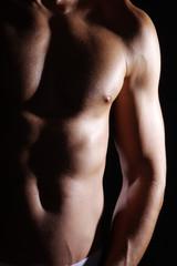 Männer Body, hoch