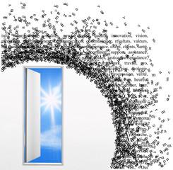 oren the door