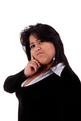 large  latin woman