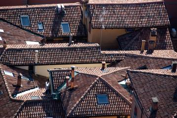 Vista sui tetti di Bologna