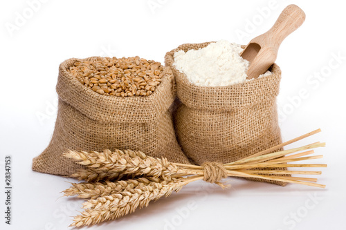 Wheat and flour