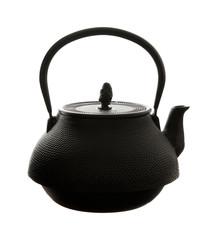 black cast iron traditional  japanese teapot (tetsubin)