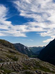 Trollveggen valley in Romsdalen