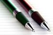 Stifte und Notizblock