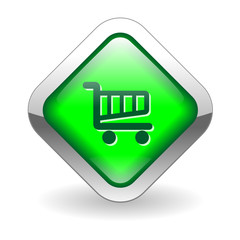 SHOPPING CART Web Button (buy now order online add to cart sign)